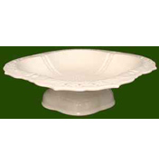 Leeds Pottery Creamware Strawberry Dish
