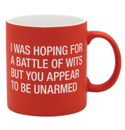 I Was Hoping For a Battle Mug
