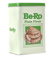 Be-Ro Plain Small Flour Tin