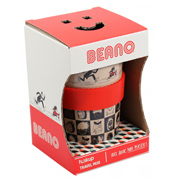 Beano Pattern Huskup 400ml Travel Mug (BOXED)