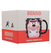 Beano Gnasher Shaped Ceramic Mug (BOXED)