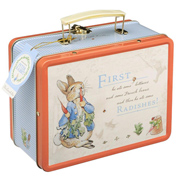 The World of Beatrix Potter Peter Rabbit Tin Lunch…
