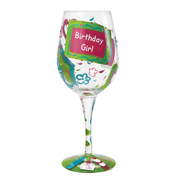Lolita Birthday Girl Too Wine Glass