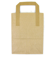 "Large Tree Saver Brown Paper Bag 10"" x 5"" x 12""…"