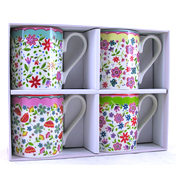 The Caravan Trail Larch Riviera Mugs Gift Set