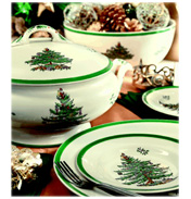 Spode Christmas Tree Plate 20cm