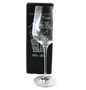 Just For You '18th Birthday' Wine Glass