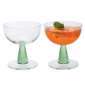 Gin Connoisseur Cocktail Glasses Pair
