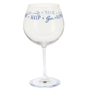 Gin Time 'Eat Sleep Gin Repeat' G&T Copa Glass