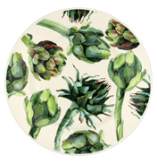 "Vegetable Garden Artichoke 8 1/2"" Plate"