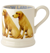 Yellow Labrador 1/2 Pint Mug