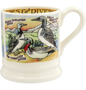 Divers & Grebes ½ Pint Mug