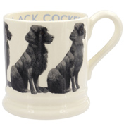 Black Cocker Spaniel ½ Pint Mug