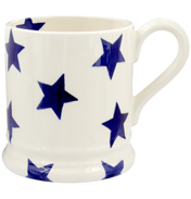 Blue Star ½ Pint Mug
