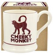 Cheeky Monkey ½ Pint Mug