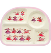 Dancing Mice Melamine Eating Tray