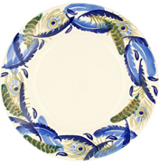 "Feather Wreath 10½"" Plate"