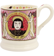 Heroes & Heroines Joan of Arc ½ Pint Mug
