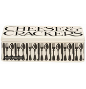 Knives & Forks Deep Rectangular Storage Tin