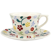 Spring Floral Small Teacup & Saucer