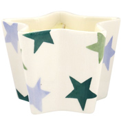 Winter Star Small Star Shaped Candle Holder with Candle
