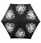 Colour Changing Umbrella (Hogwarts Crest)