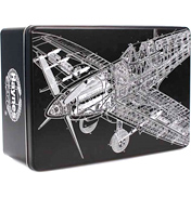 Haynes Supermarine Spitfire Rectangular Metal Storage Tin