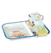Humpty Dumpty Divided Melamine Tray & Cup Set