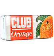 Jacob's Club Orange Bar Rectangular Storage Tin