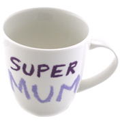 Jamie Oliver Cheeky Mugs 350ml SUPER MUM MUG