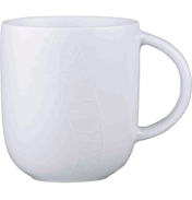Jamie Oliver White on White 400ml MUG
