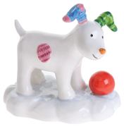 John Beswick The Snowdog Playing in The Snow…