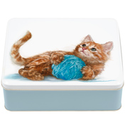 'Best Friends' Kitten Deep Rectangular Tin