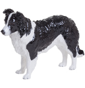 John Beswick Border Collie, Black & White