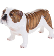 John Beswick British Bulldog Hand Painted Ceramic…