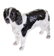 English Springer Spaniel (Black and White) Figurine