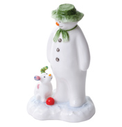 John Beswick The Snowman and The Snowdog Figure