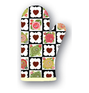 Julie Dodsworth Chocolate Box Cotton Oven Gauntlet