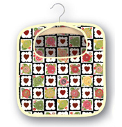 Julie Dodsworth Chocolate Box Cotton Peg Bag