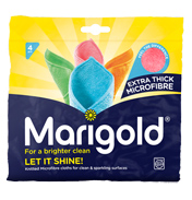 Marigold Let It Shine Knitted Microfibre Cloth (4 Pieces)