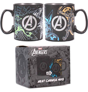 Marvel Avengers Heat Changing Mug (BOXED)