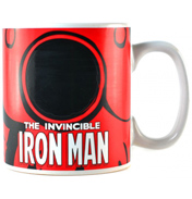 Iron Man Heat Changing 400ml Ceramic Mug