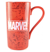 Marvel Comics Logo Ceramic Latte Mug