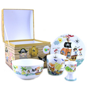 Pirates 4 Piece Breakfast Set