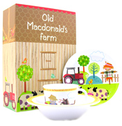 Little Rhymes Old McDonald 3 Piece Melamine Set