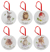 Christmas Decoration Set of 6