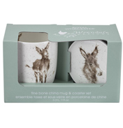 Gentle Jack Mug & Coaster Set