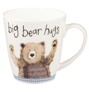 Alex Clark Sparkle Cherry Mug Big Bear Hugs 360ml
