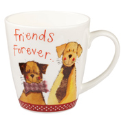 Friends Forever Sparkle Cherry Mug 360ml