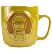 C-3PO Embossed Metallic Mug